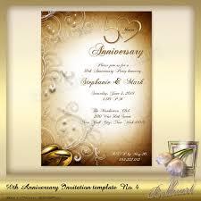 Microsoft Word Invitation Templates Free Download 50th Wedding Anniversary Invitations Templates Invitation