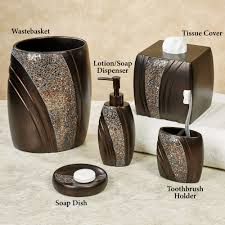 Maroon Bathroom Accessories Bathroom Accessory Sets Touch Of Class