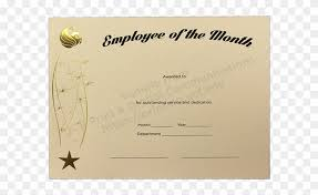 Download Award Certificate Templates Employee Of The Month Award Certificate Template 84278