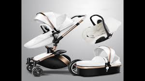 <b>Baby</b> Stroller <b>AULON</b> with car seat PU Leather - YouTube