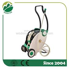 garden auto automatic water hose reel with wheels foot pedal rewind retractable hose reel water hose reel foot pedal rewind retractable water hose