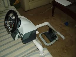 diy racing wheel stand pvc clublilobal com