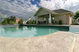 Photos of Stamped Concrete Pool Decks. New England Hardscapes Ozark  Patterned Concrete Aupperle & Sons ...