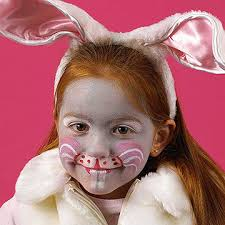 bunny face painting