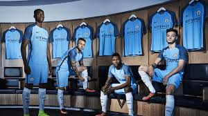 man city unveil 2016 17 home kit goal