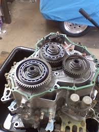 inside the v6 automatic transmission honda tech the end cover removed