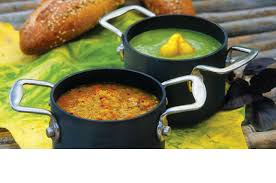 serve soup in mini stock pots d garden grille cafe pawtucket ri