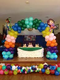 simple balloon decoration ideas at home utilizing balloon
