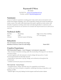 English Research Paper New World Bistro Concept Artist Resume