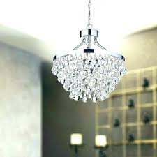 pottery barn clarissa chandelier crystal drop round glass petite knock off