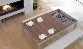 Pool table that is a dining table Foot Fusion Dining Table Modern Design Dining Room Tables Sklar Furnishings Sklar Furnishings Fusion Dining Table Modern Design Dining Room Tables Sklar