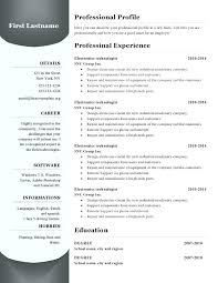 How To Write A Resume On Microsoft Word 2007 Resume Sample Directory