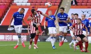 Greetings and welcome to our live coverage of everton's clash against sheffield united. Sheffield United 0 1 Everton Premier League As It Happened Football The Guardian