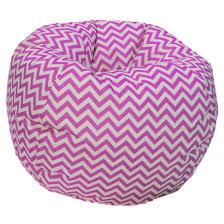Chevron Bean Bag Chair - Free Shipping Today - Overstock.com - 16714615