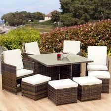 dining seater patio set
