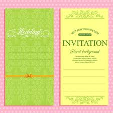 Wedding Invitation Card Template Wedding Invitation Card Background Design Free Vector Download