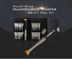 $1 with coupon for <b>Gocomma Screwdriver Wallet Kit</b> Repair Tools 25 ...