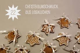 Christbaumschmuck Aus Lebkuchen