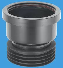 iron pipe connector.  Connector Plastic Soil Pipe 110mm To Cast Iron Or Clay Black Connector  Plumbers  Mate Ltd With E