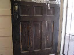 Front door restoration project begins