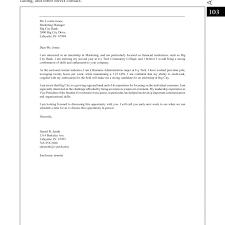 Cover Letter For Government Internship Cover Letter Sample