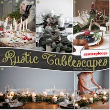 Gorgeous Centerpieces and Runners for a Rustic Holiday