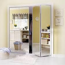 image mirrored closet. bifold closet doors mirrored door styles image r