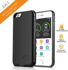 Memory Extended Battery Case Battery Case for iPhone 6/6S – ultra slim  TF/Micro SD Card not Including): Amazon.de: Electronics & Photo
