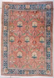 7452 mahal antique persian rug 5 11 x 8 7
