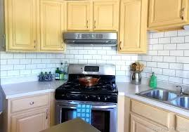 this is diy kitchen backsplash pictures kitchen faux painted subway tile diy kitchen backsplash tile