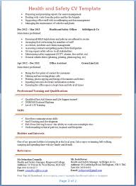 Safety Manager Resume Project Management Resume Or Generic Resume Template And Types Of