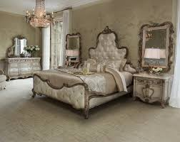 traditional bedroom design. Unique Traditional Platine De Royale Champagne Bedroom Set By Michael Amini For Traditional Design