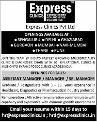 Jobs In Express Clinics Pvt. Ltd., Vacancies In Express Clinics Pvt ...
