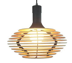 wood pendant lamp with white holder i light and natural star shape large pendant lighting
