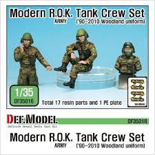 2010 Us Army Pay Chart Modern Rok Army Tank Crew Set 90 2010 3pcs Set