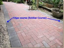 block paving edge courses pavingexpert