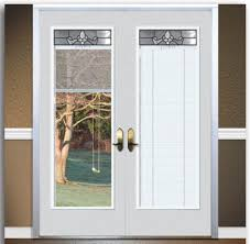 great sliding glass patio doors with built in blinds with exterior door with blinds 34 blinds