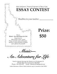 ifmc nfmc scholarships and awards boise tuesday musicale nmw essay poster