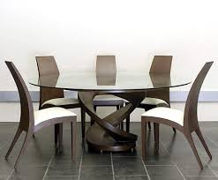 image of contemporary chairs for dining table set