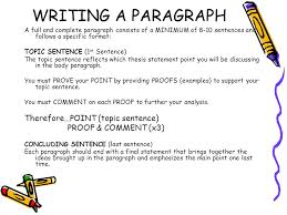 your handy dandy guide to organizing a proper paragraph essay  6 writing