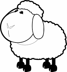 Small Picture Free Coloring Pictures Of Sheep Printable Sheep Coloring Pages For