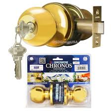 Decorating door knob sets keyed alike photos : Constructor CHRONOS Entry Door Knob Handle Lock Set Keyed Alike ...