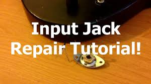 electric guitar input jack repair tutorial electric guitar input jack repair tutorial