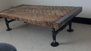 industrial furniture legs. Industrial Coffee Table Old Barnwood Distressed Pipe Legs Reclaimed Character Rustic Pine Maple Log Live Furniture