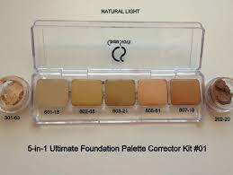 cinema secrets corrector palette daylight ultimate foundation