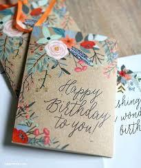 Homemade Birthday Invitation Cards Birthday Card Inspirational Ideas