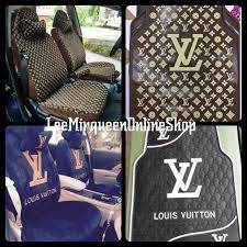 cod lv car seat cover and rubber carmat