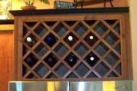 Wine Racks Wine Rack Lattice Wine Rack Lattice Insert Cabinets