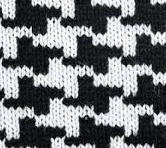 Houndstooth Knitting Pattern Chart Almost Houndstooth