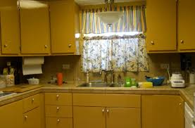 Yellow Painted Kitchen Cabinets Yellow Painted Kitchen Cabinets